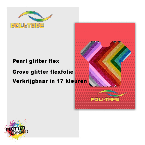 PLT | Politape pearl glitter flex (50cm/25mtr)