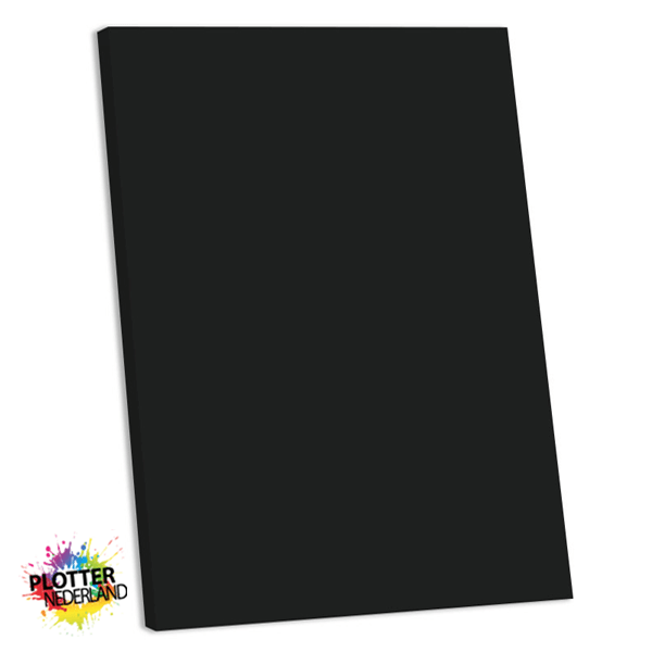 PNL | Tekstbord zwart (MDF)