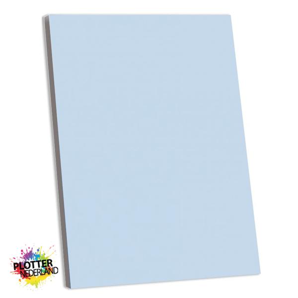 PNL | Tekstbord pastelblauw (MDF)