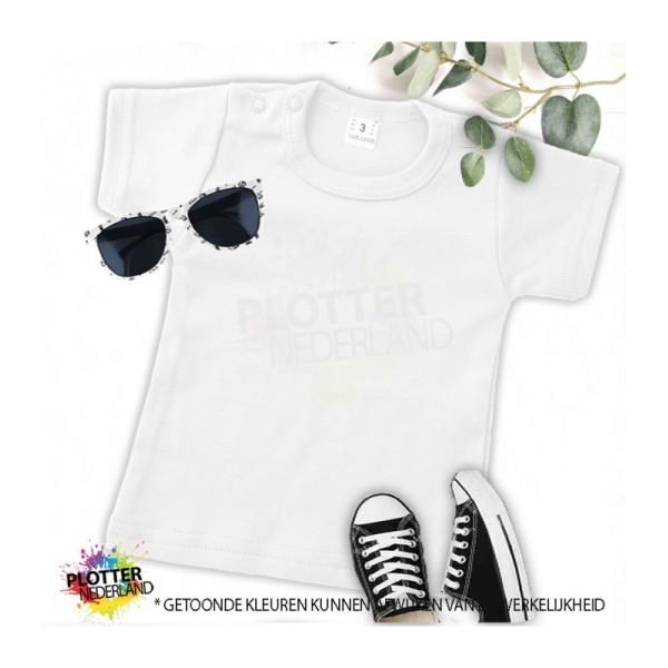 PNL   No label shirt KM (wit)