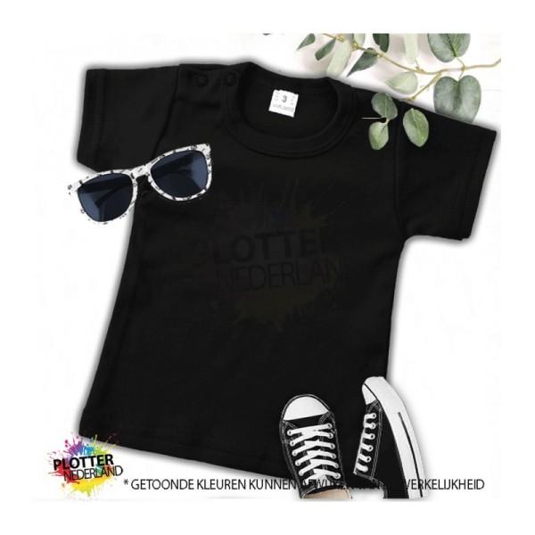 PNL | No label shirt KM (zwart)