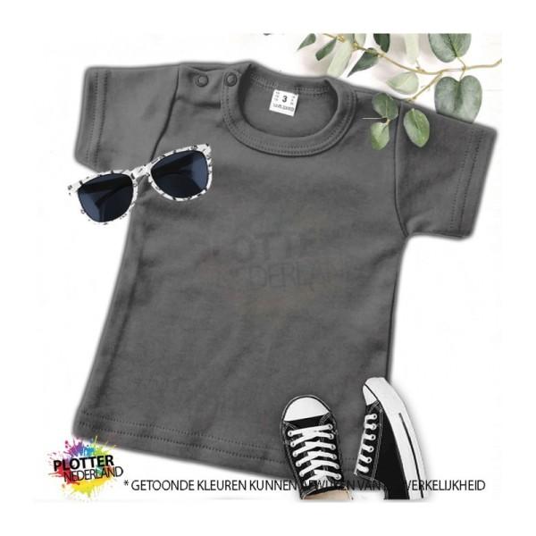 PNL   No label shirt KM (antraciet)