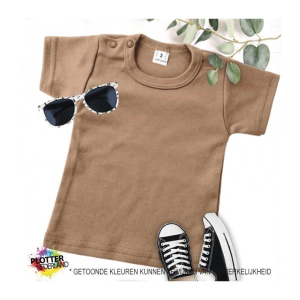PNL | No label shirt KM (mokka)