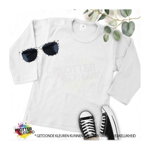 PNL   No label shirt LM (wit)