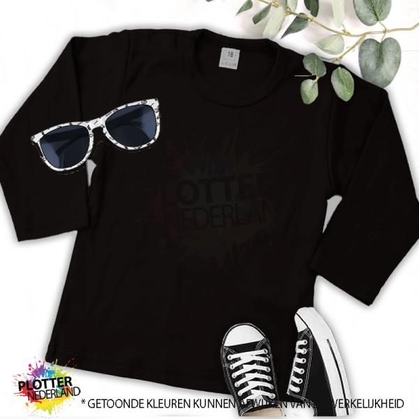 PNL | No label shirt LM (zwart)