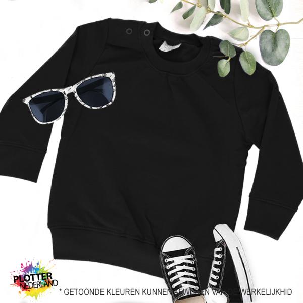PNL | No label sweater (zwart)