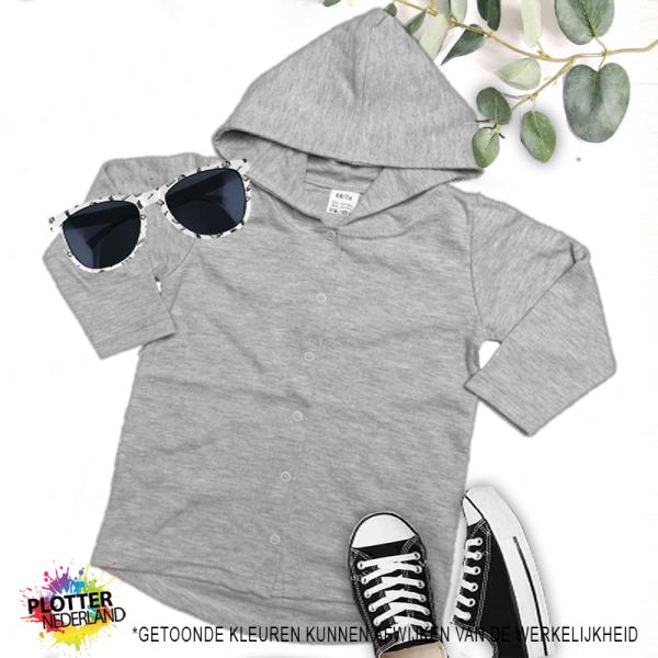PNL | No label hoodie (grijs)