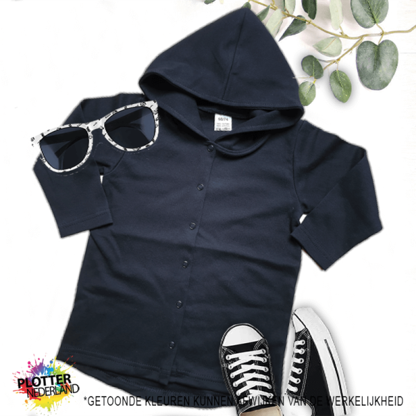 PNL | No label hoodie (zwart)