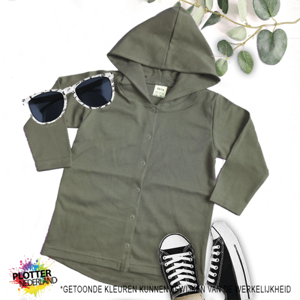 PNL | No label hoodie (khaki)
