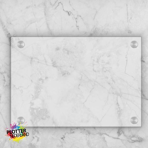PNL | Plexiglas bordje (helder/20x20cm)