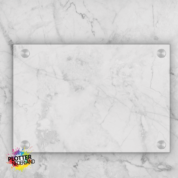PNL | Plexiglas bordje (helder/20x15cm)