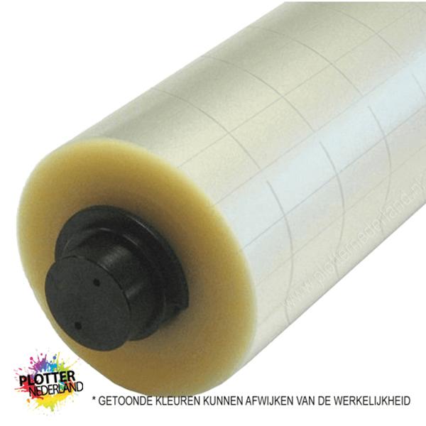 PLT | Applicatiefolie transparant met raster (61cm/50mtr)