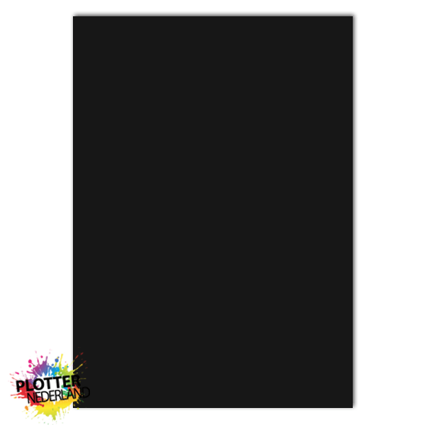 PNL | Tekstbord dibond zwart