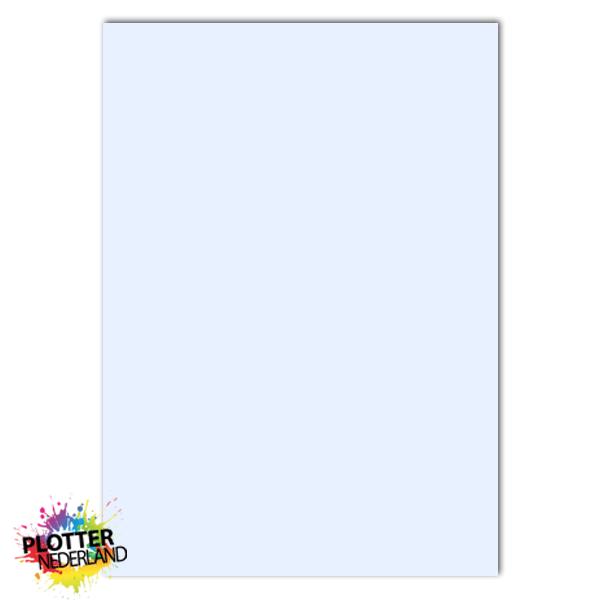 PNL | Tekstbord dibond pastelblauw