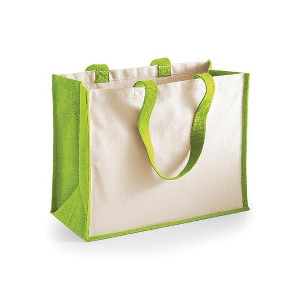 WM | Printers Jute Classic Shopper