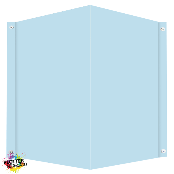 PNL | Raambord pastelblauw