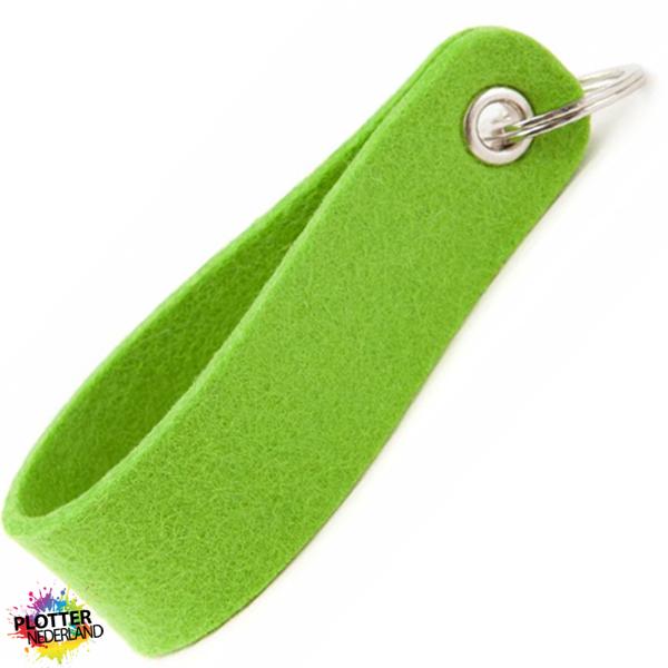 PNL | Vilten sleutelhanger (limegreen)