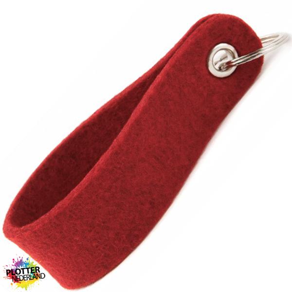 PNL | Vilten sleutelhanger (rood)