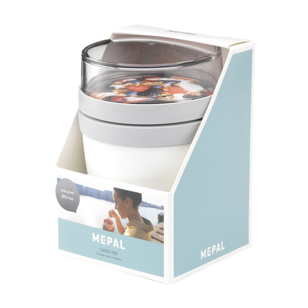 MEPAL | Lunchpot Ellipse foodcontainer (wit)