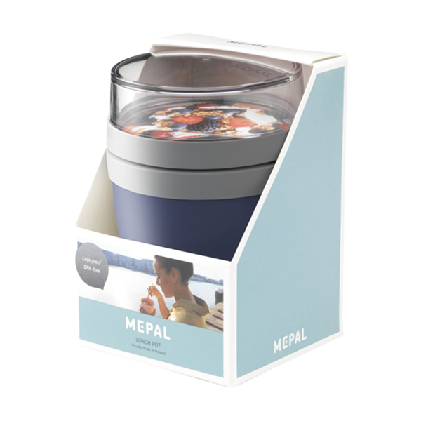 MEPAL | Lunchpot Ellipse foodcontainer (donkerblauw)