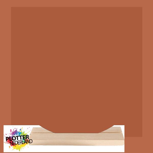 PNL   Dibond muurcirkel (terracotta)