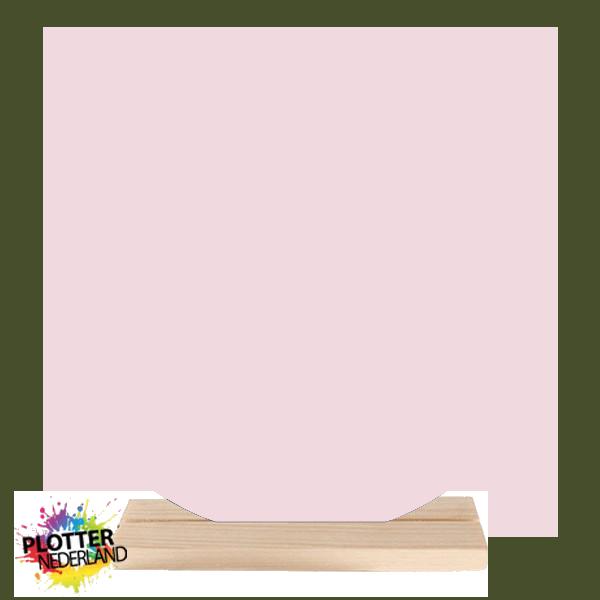 PNL   Dibond muurcirkel (pastelroze)