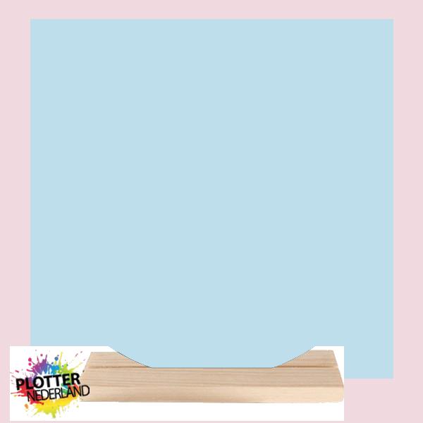 PNL   Dibond muurcirkel (pastelblauw)