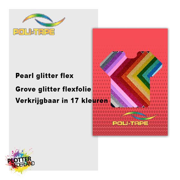 PLT | Politape pearl glitter flex (50cm/12.5mtr)